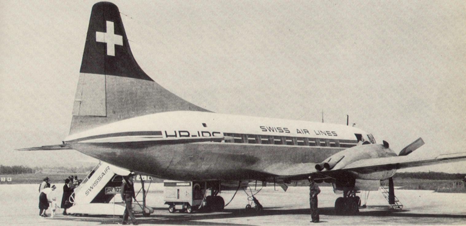 HB-IRT. Convair 240-11