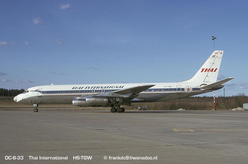 Fleet - Douglas DC-8-32